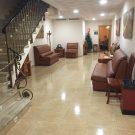 Hall principal del tanatorio de Cocentaina